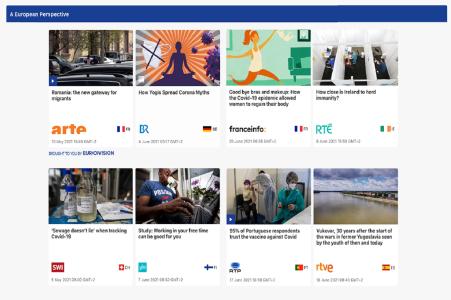 10 médias européens créent unhub d'information numérique et de service public