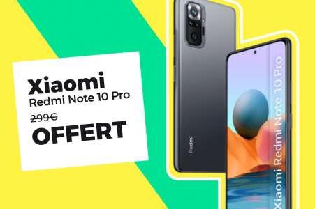 Redmi Note 10 Pro: il est excellent et il est gratuit, ça ne se refuse pas 🔥