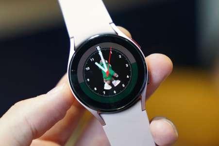 Samsung Galaxy Watch4, la nouvelle montre connectée de référence sous Android