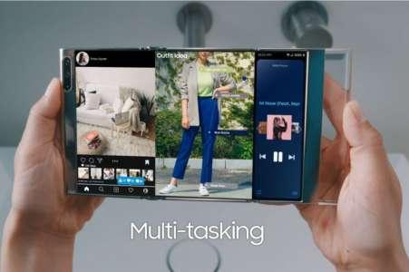 Après le Galaxy Z Fold 3, Samsung présente un incroyable smartphone qui se plie en trois (Vidéo)