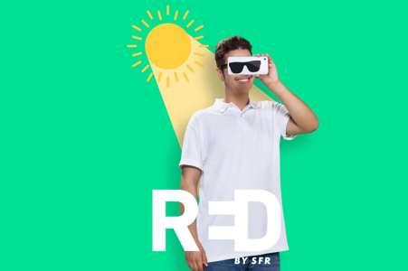 Forfait mobile: RED by SFR casse les prix de sa gamme cet été, n'attendez plus 🔥