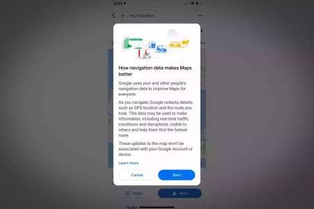 Google Maps devient moins pratique si vous refusez la collecte de données personnelles