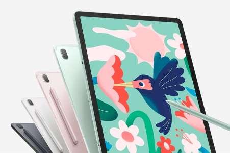 Galaxy Tab S7 FE: Samsung dégaine une offre XL, sa tablette chute de -50%