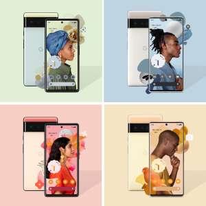 Voici les Pixel 6 et Pixel 6 Pro de Google