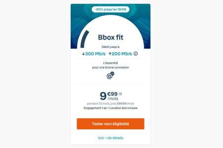 Vente Flash: Bouygues Telecom casse le prix de sa Bbox Fit