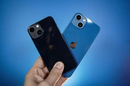 Test iPhone 13 et 13 mini (2021) : Pomme de Reinette et Pomme d'Happy