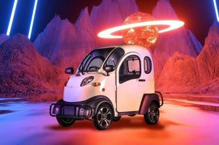 Cette étrange voiture électrique coûte moins cher qu'un iPhone