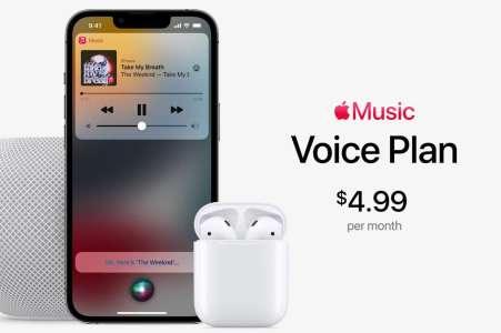 Avec Apple Music Voice, Apple va faire trembler Spotify et Deezer
