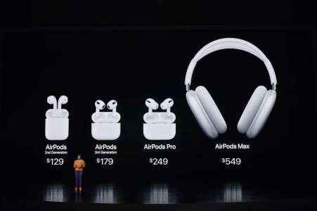 Keynote: Apple annonce (enfin) les AirPods 3
