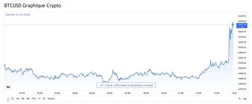 Le Bitcoin atteint un record historique. 100k$ bientôt en ligne de mire?