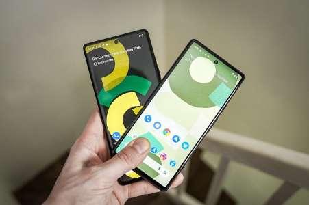 Google Pixel 6 ou Pixel 6 Pro: lequel choisir?