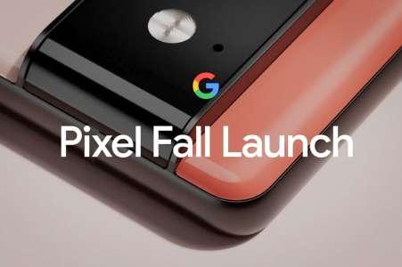 Pixel 6 et Pixel 6 Pro: comment suivre la conférence Google en direct dès 19h