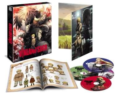 La première saison de Vinland Saga en DVD et Blu-ray chez Kazé