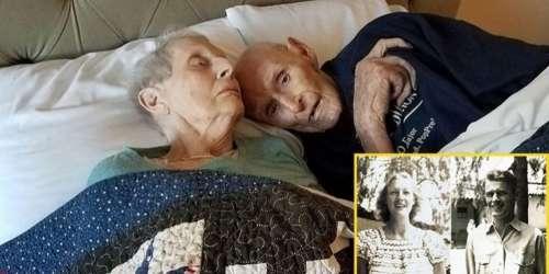 Ce couple a servi ensemble pendant la seconde guerre mondiale, s'est marié 70 ans et a fini par mourir le même jour