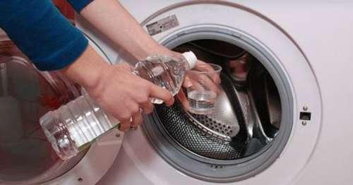 Apprenez à nettoyer la machine à laver avec du vinaigre : 3 astuces qui facilite la vie