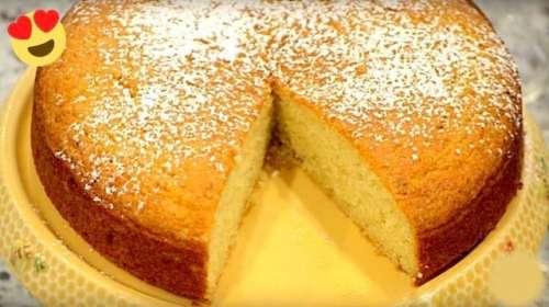 Le gâteau au yaourt sans farine, sans beurre – la recette délicieuse prête en 5 minutes