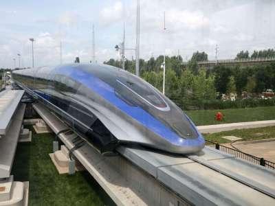 La Chine dévoile un nouveau train ultra-rapide