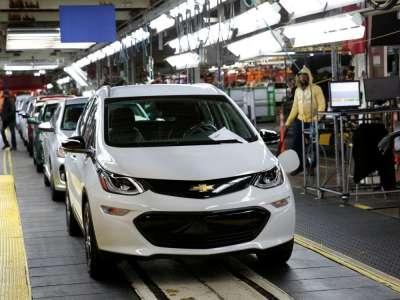 GM: Nouveau rappel de près de 69.000 Bolt EV pour risque d'incendie