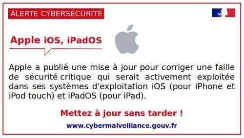 Les produits Apple ont aussi de grosses failles de sécurité !
