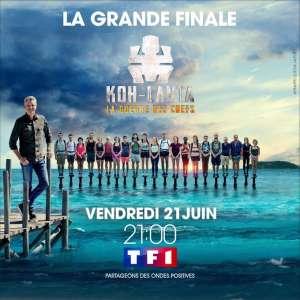 Audiences TV prime 21 juin : TF1 en tête avec la finale de « Koh-Lanta : la guerre des chefs »