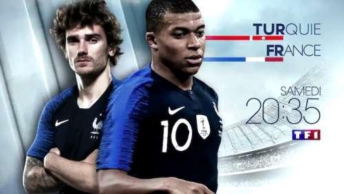 Audiences TV prime 8 juin : Turquie / France leader (TF1) devant Puzzle (France 3)