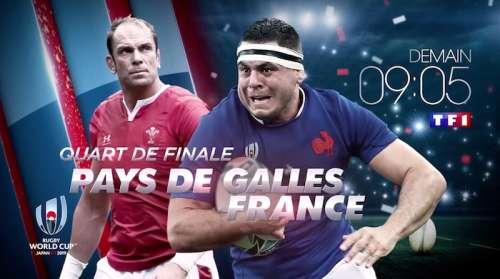 Coupe du monde de rugby : Pays de Galles / France en direct, live score et streaming