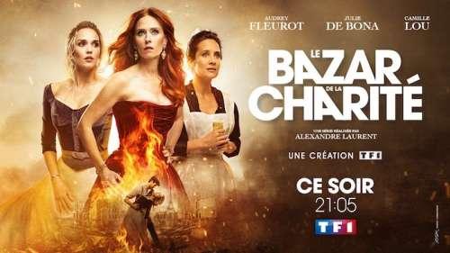 Audiences prime 25 novembre : nouveau carton pour « Le Bazar de la Charité »