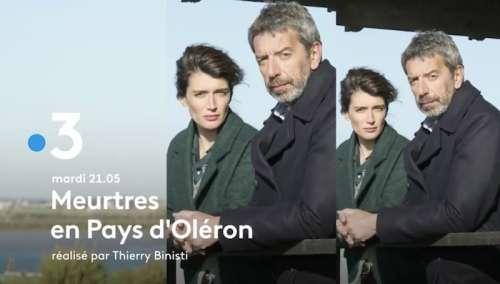 Audiences TV prime 10 juin 2021 : «  Meurtres en Pays d'Oléron » en tête (France 3), « Luther » faible (TF1)