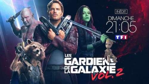 Audiences télé prime 23 février : « Les Gardiens de la galaxie Vol.2 » leader devant  « L'école buissonnière »