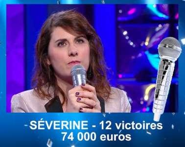 N'oubliez pas les paroles : éliminée, Séverine s'en va avec 74.000 euros