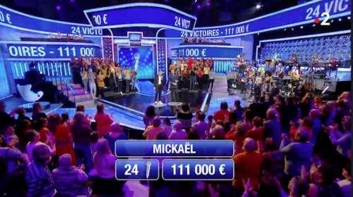 « N'oubliez pas les paroles » (NOPLP) : Mickaël continue et atteint 111.000 euros !