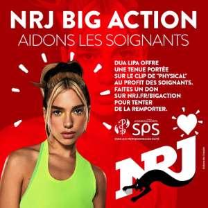 NRJ BIG ACTION : Dua Lipa soutient la France et le personnel soignant face au coronavirus