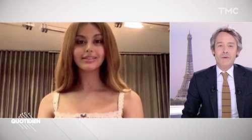 Quotidien : Yann Barthès interroge Zahia Dehar, il reçoit un flot de critiques (VIDEO)