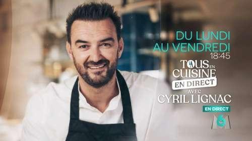 « Tous en cuisine en direct avec Cyril Lignac » du lundi 31 août 2020 : ingrédients et ustensiles pour les recettes de ce soir avec Anne Roumanoff en invitée !