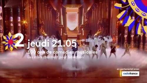 « 100 ans de comédies musicales » au profit du Sidaction : ce soir sur France 2 (liste des artistes et invités)