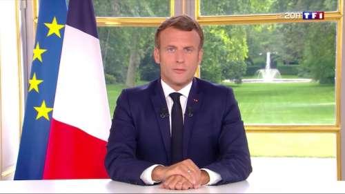 Audience record pour le JT de TF1, l'allocution d'Emmanuel Macron largement suivie