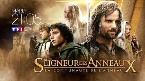 Audiences TV prime 9 juin :  « Le seigneur des anneaux » petit leader devant  « Tandem»