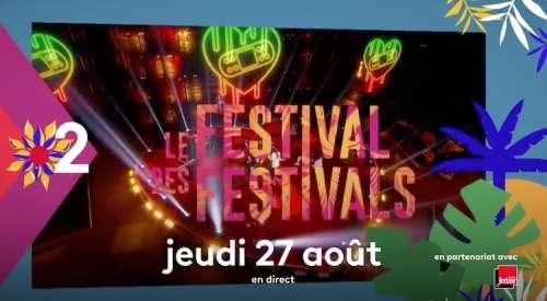 « Le Festival des Festivals » ce soir en direct sur France 2 : artistes et invités du concert événement de « Rock en Seine »