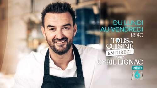 « Tous en cuisine en direct avec Cyril Lignac » du jeudi 27 août 2020 : ingrédients et ustensiles pour les recettes de ce soir avec Booder comme invité !
