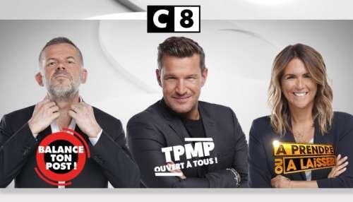 Les vendredis de C8 dès le 4 septembre  : Éric Naulleau, Benjamin Castaldi et Valérie Bénaïm