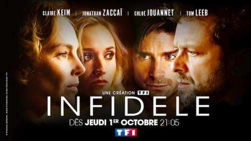 Audiences TV prime jeudi 1er octobre : « Infidèle » petit leader (TF1), succès pour «Unis pour le Liban » (France 2)