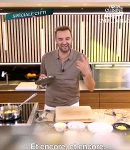 « Tous en cuisine » du vendredi 2 octobre : ingrédients et ustensiles pour les 2 recettes de Cyril Lignac ce soir