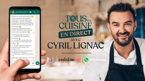 « Tous en cuisine » du 30 septembre : ingrédients pour la recette de Cyril Lignac ce soir