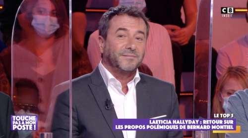 Laeticia Hallyday est «une manipulatrice» selon Bernard Montiel dans TPMP (VIDEO)