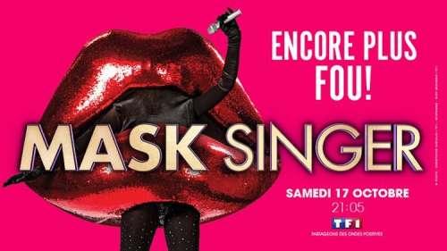 « Mask Singer » nouvel indice : qui se cache derrière le masque de la bouche ?