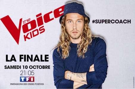 The Voice Kids : Julien Doré super coach de la finale en direct (VIDEO)