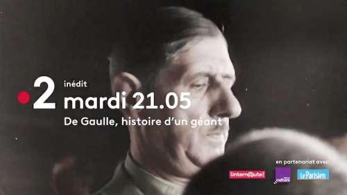« De Gaulle : l'histoire d'un géant » : documentaire inédit ce soir sur France 2
