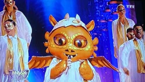 Finale de « Mask Singer » :  Issa Doumbia se cache t-il derrière le masque du Dragon ? (indices)