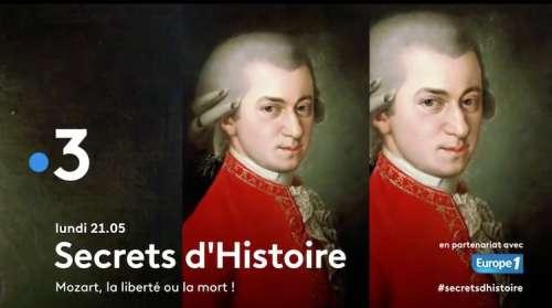 « Secrets d'histoire » du 23 novembre 2020  : ce soir « MOZART » (rediffusion)