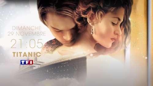 « Titanic » : le film culte avec Leonardo DiCaprio et Kate Winslet, ce soir sur TF1